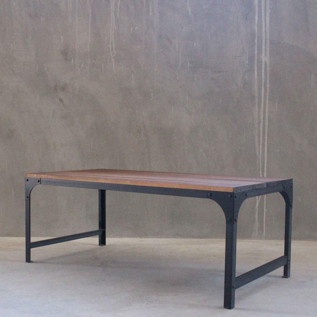 Mesa ratona hierro y madera 1 plano x estacion ortiz - Mesas madera y hierro ...